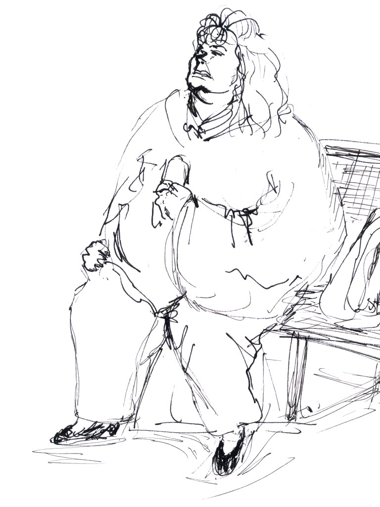 Portrait_Mujer Gorda