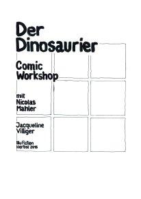 comic workschop mit Nicolas Mahler